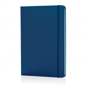 Classic hardcover notebook A5, blue