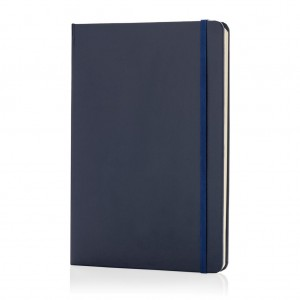 Classic hardcover notebook A5, navy