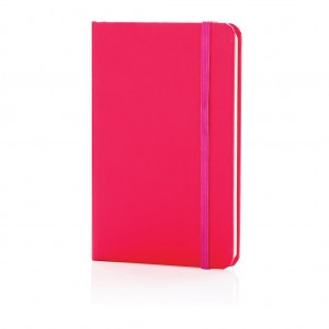 Classic hardcover notebook A6, pink
