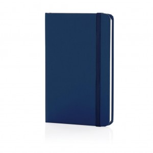 Classic hardcover notebook A6, royal blue