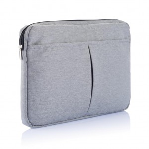 "Laptop sleeve 15"" PVC free, grey"