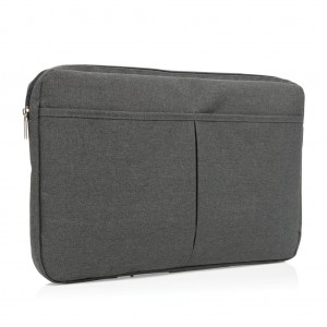 "Laptop sleeve 15"" PVC free, dark grey"